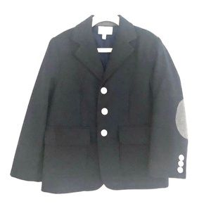 Baby CZ Elbow Patch Wool Blazer